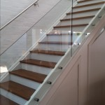 Stairs Frameless Glass Balustrade