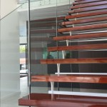 Staircase Frameless Glass Balustrade